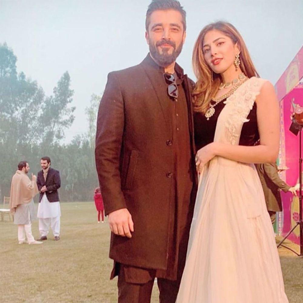 Picture of Naimal Khan makes a statement in a classic Zainab Salman lehnga choli 😍