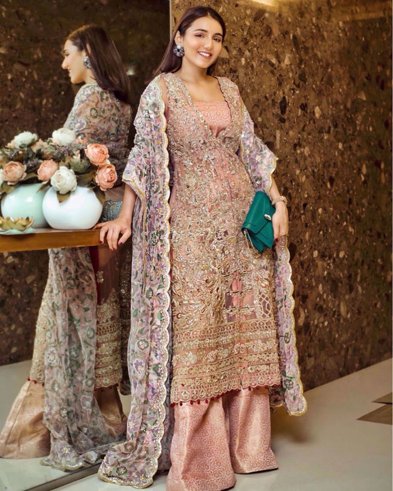 Picture of Intricately handworked and created Bridal ensembles by Zainab Salman are made to make your special day magical & grand!
