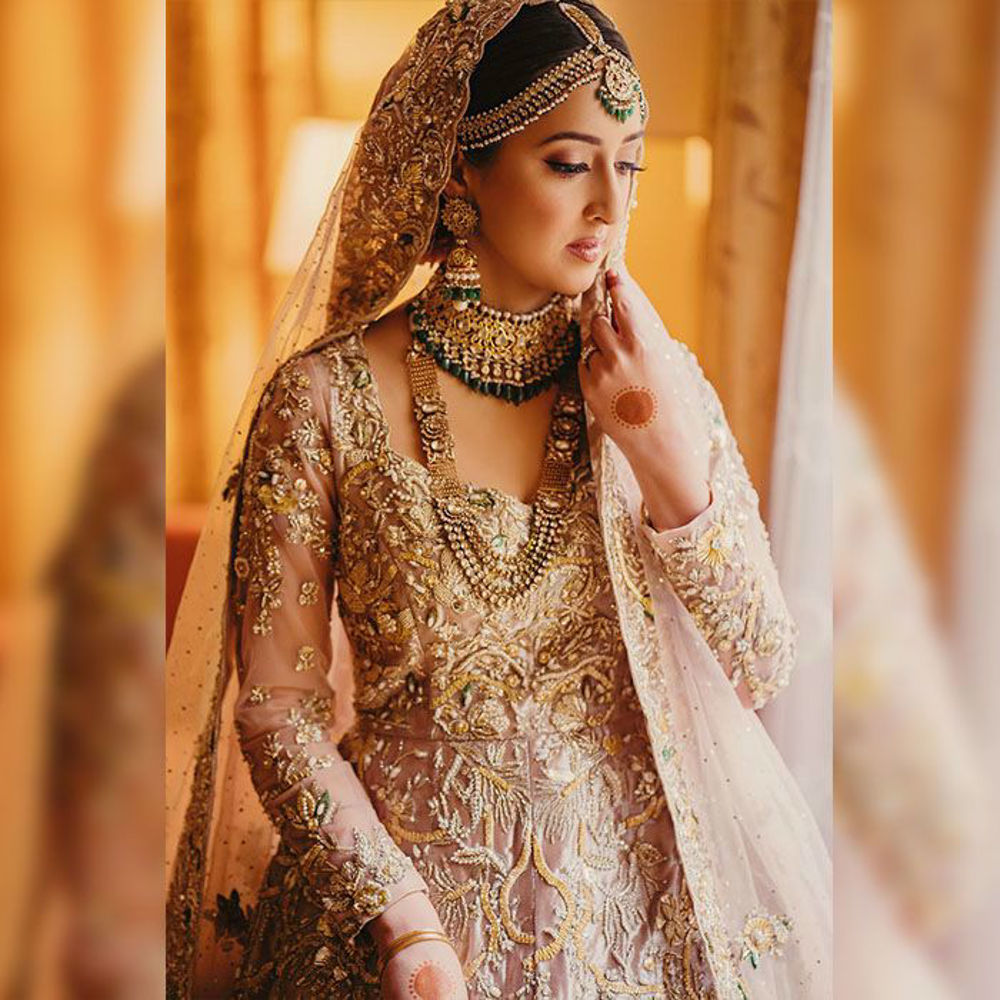 Picture of Saba Raja opted for this traditionally crafted bridal