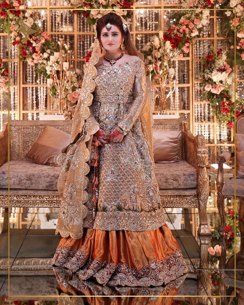 Picture of Embellished radiance and elegance personified by our endearing bride Shanzay