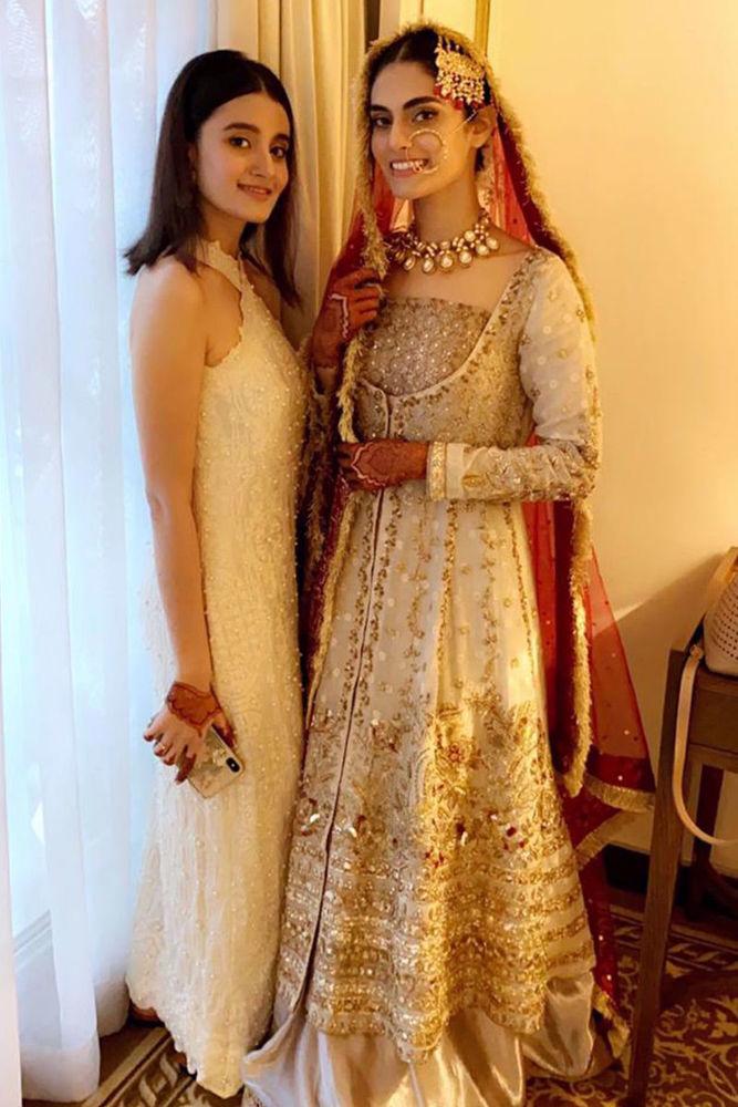 Picture of Ersa Batool makes a beautiful Zainab Salman bride