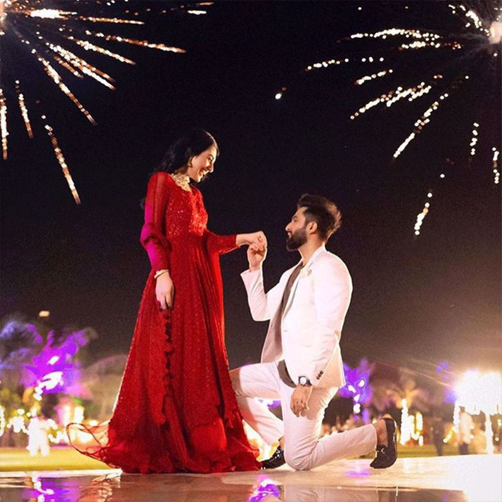 Picture of Blown away by how gorgeous @sarahkhanofficial looks in our Laal Gulaab from our Intimate Bridal Collection Umeed